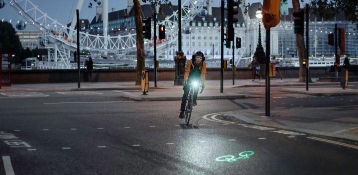 Blaze, l'éclairage vélo révolutionnaire