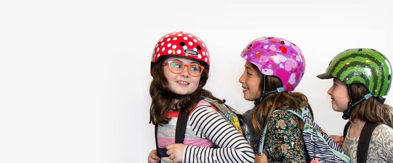 Actu vélo : Le port du casque & les enfants