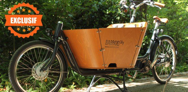 Le Babboe électrique by Holland Bikes !