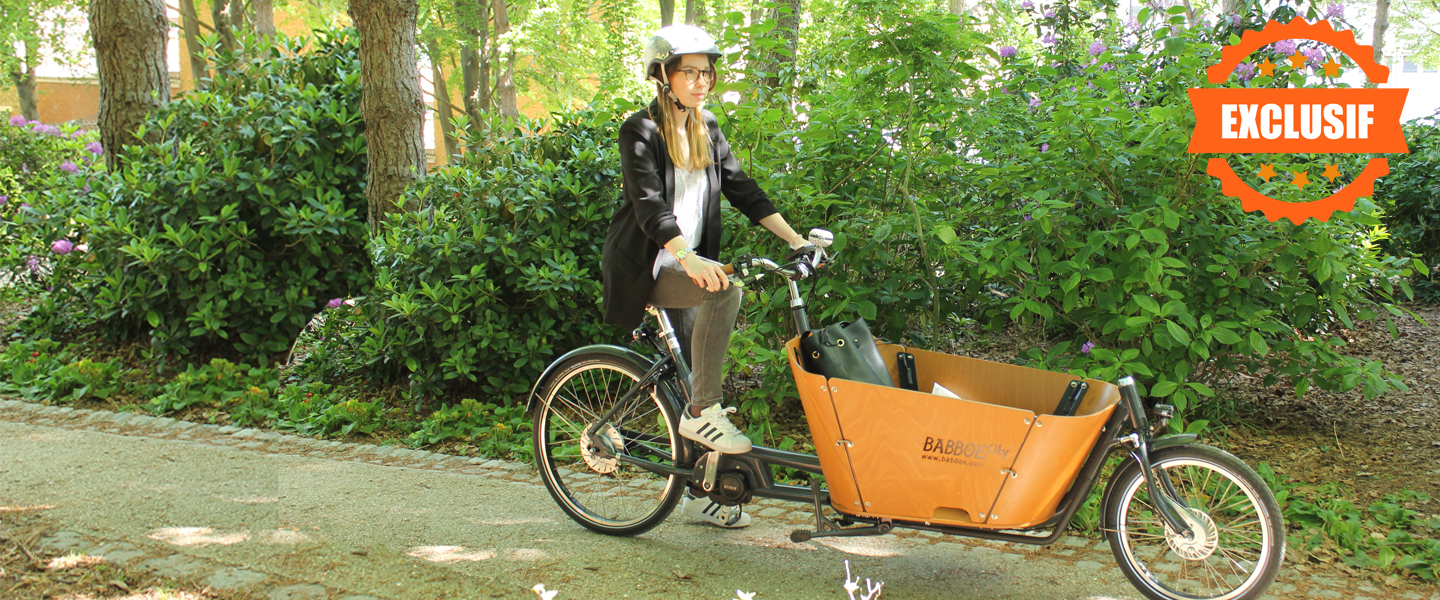 <FONT COLOR=#ffa300>Le Babboe by Holland Bikes</FONT>