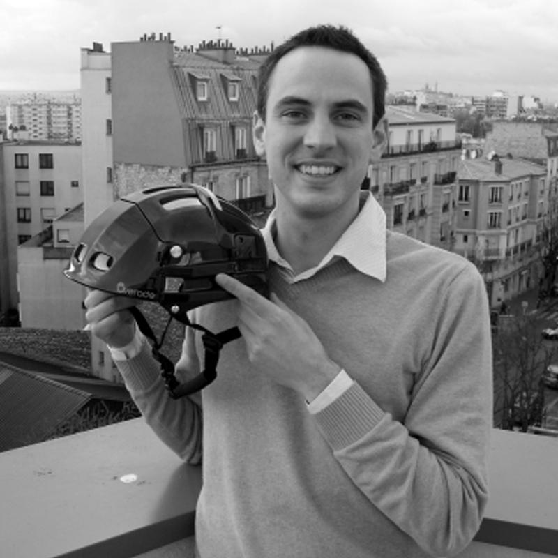 Clément Cailleau co-fondateur et responsable ventes chez Overade