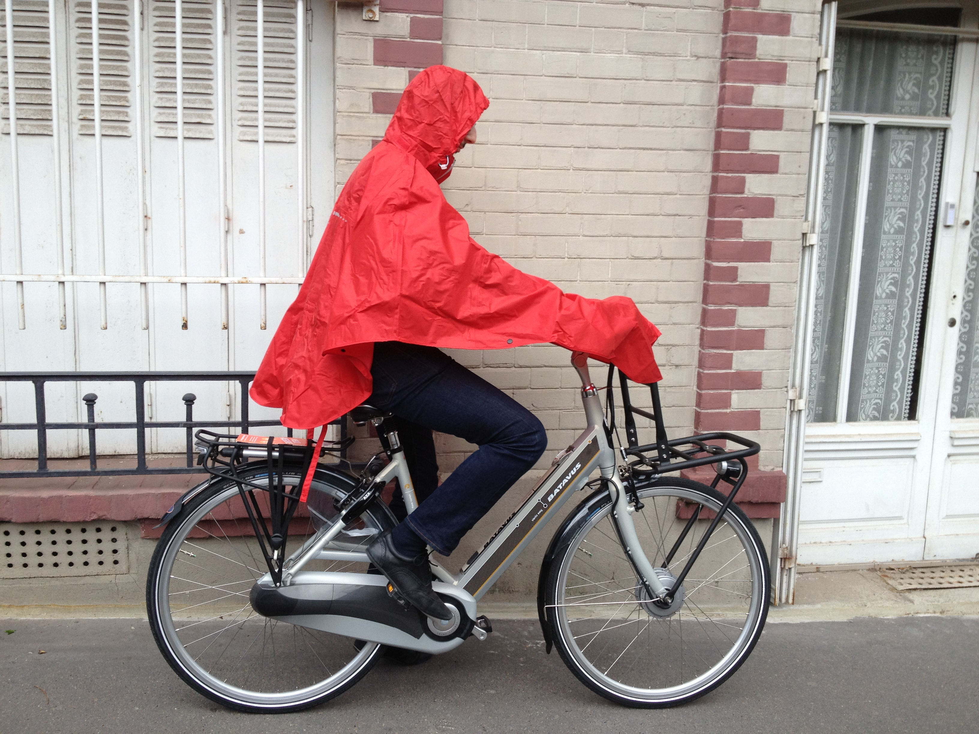 vetement pluie cycliste