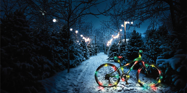 7 bonnes raisons de se mettre au vélo pour les fêtes de Noël !