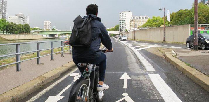 La première piste cyclable express de Paris est déjà là !