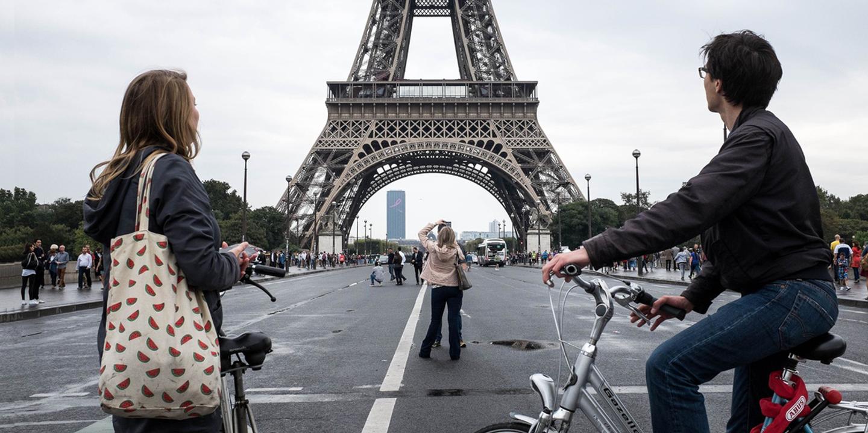 Une journée sans voiture à Paris !
