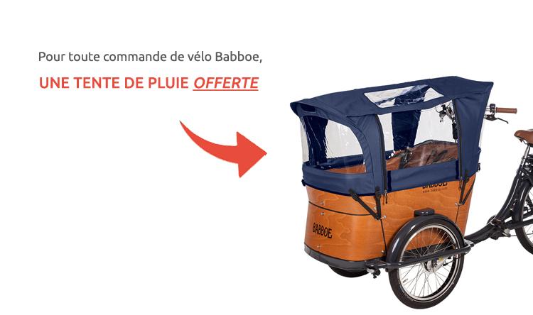 tente de pluie babboe offerte holland bikes paris 15
