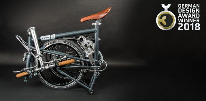 Ahooga, les vélos pliants électriques ultra légers