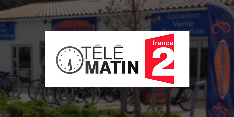 Holland Bikes sur France 2 !