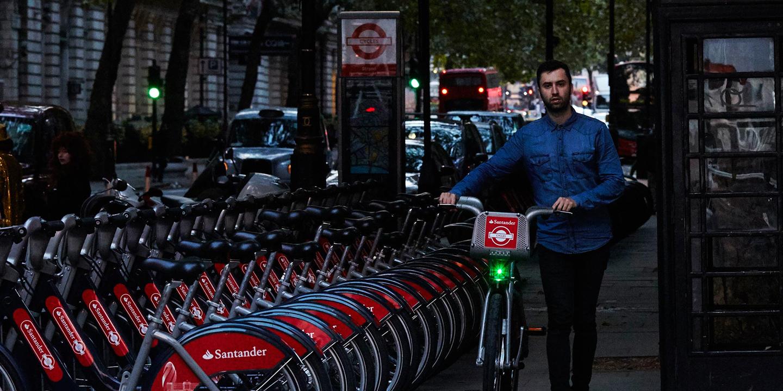 """L'éclairage Blaze sera sur les """"vélib"""" Londoniens"""