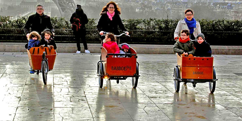 Quand les Français tombent amoureux des Cargos Bikes !