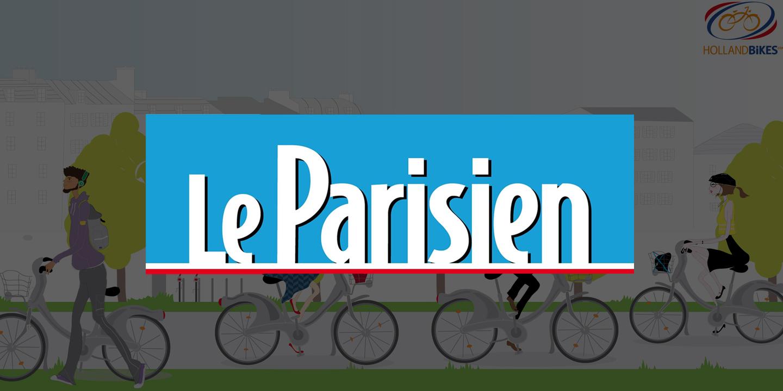 Le Parisien : Les accessoires pour les Vélib' d'Holland Bikes
