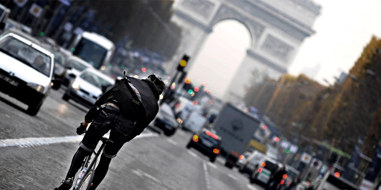 Paris vue à travers les yeux d'un cycliste