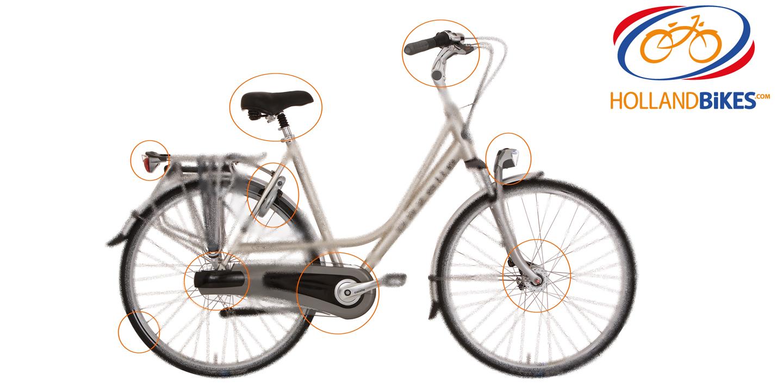 Pourquoi un vélo Holland Bikes ? 8 principales raisons