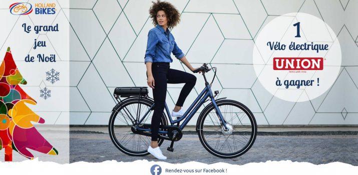Tentez de gagner un vélo électrique Union !