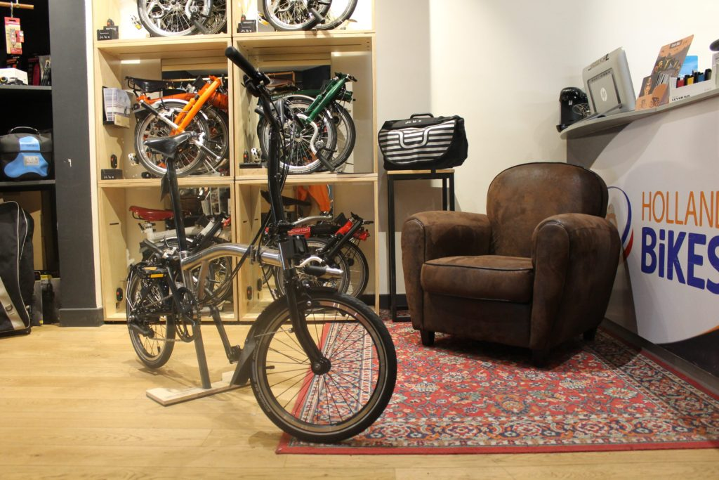 magasin velo holland bikes paris 5 brompton