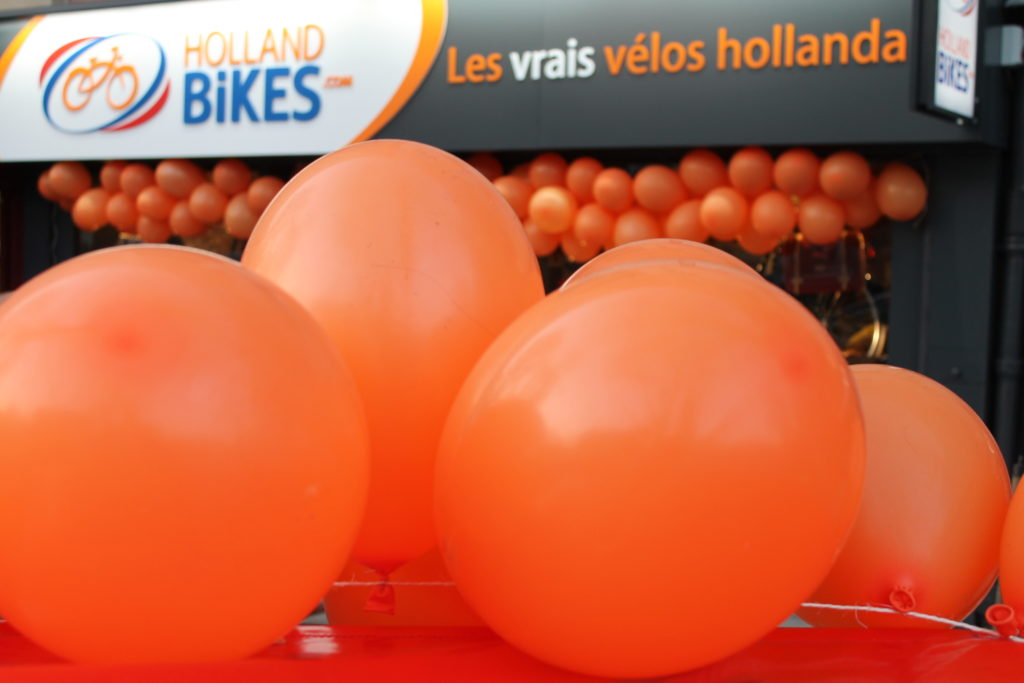 inauguration holland bikes paris 15