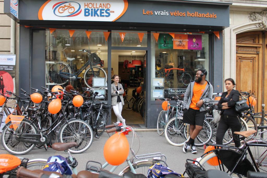 holland bikes paris 17