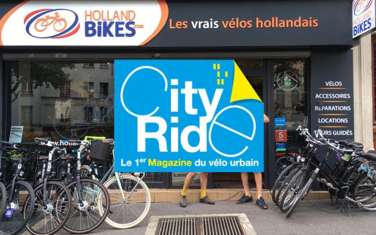 CityRide : Holland Bikes et la mobilité vélo