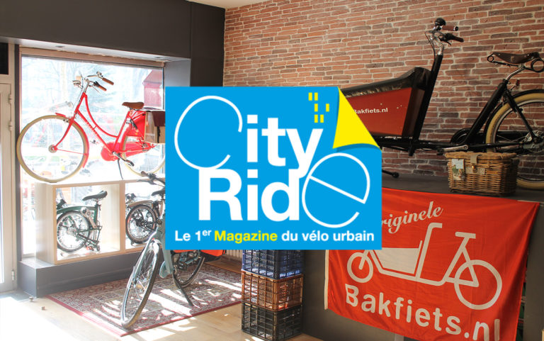 CityRide : Holland Bikes restaure son magasin historique
