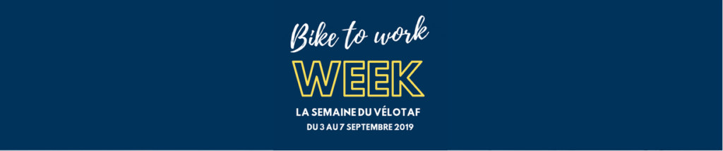 bike to work week banniere