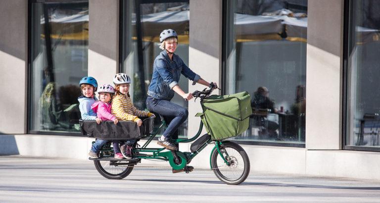 Le vélo long-tail : un vélo rallongé