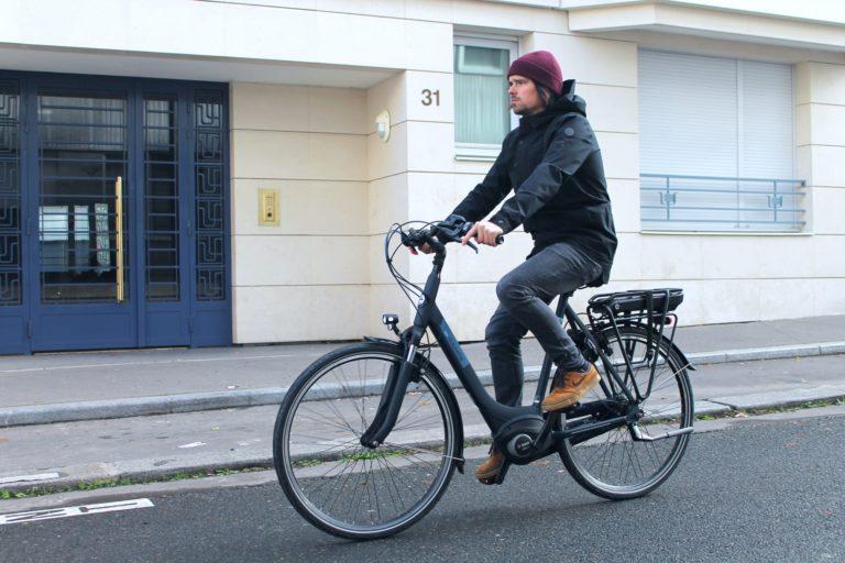 Le vélo électrique Gazelle Paris C7 HMB, une nouveauté taillée pour la ville