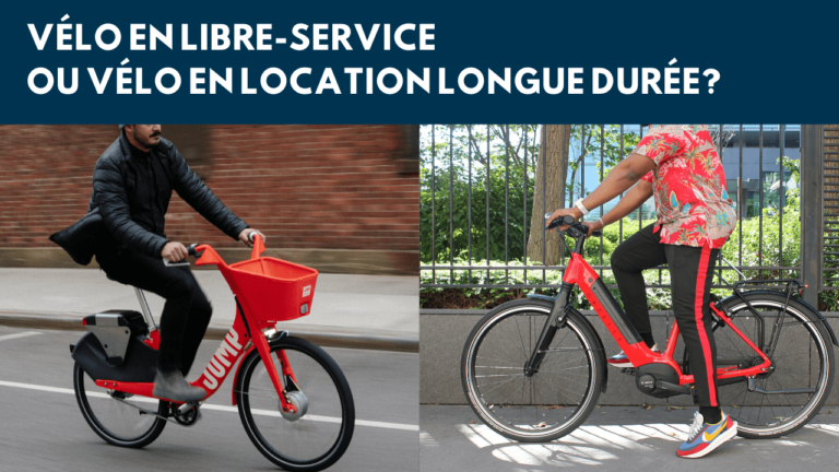 5 raisons de choisir un vélo en LLD plutôt qu'un vélo en libre-service