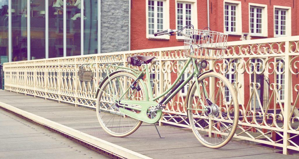 velo de ville vintage