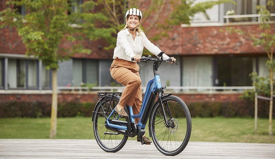vélo électrique chamonix c7 hms gazelle