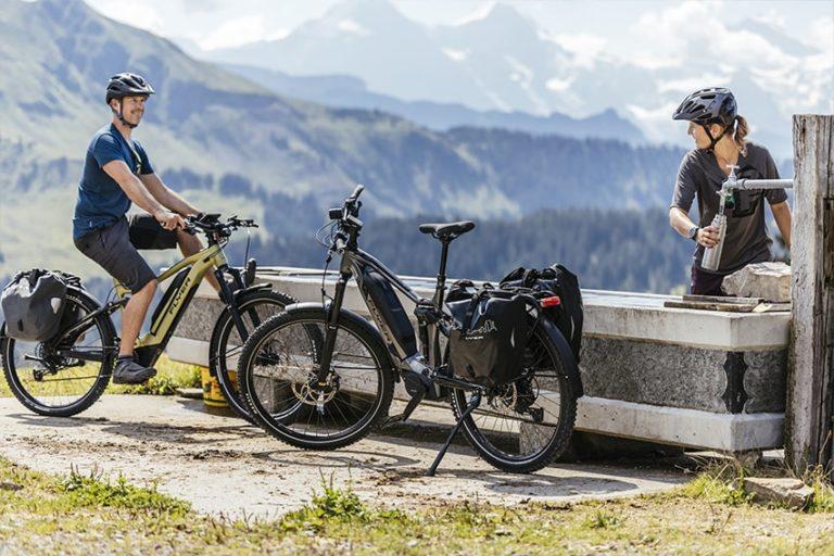 Vélos électriques Flyer : des VAE hybrides taillés pour le quotidien et la randonnée.