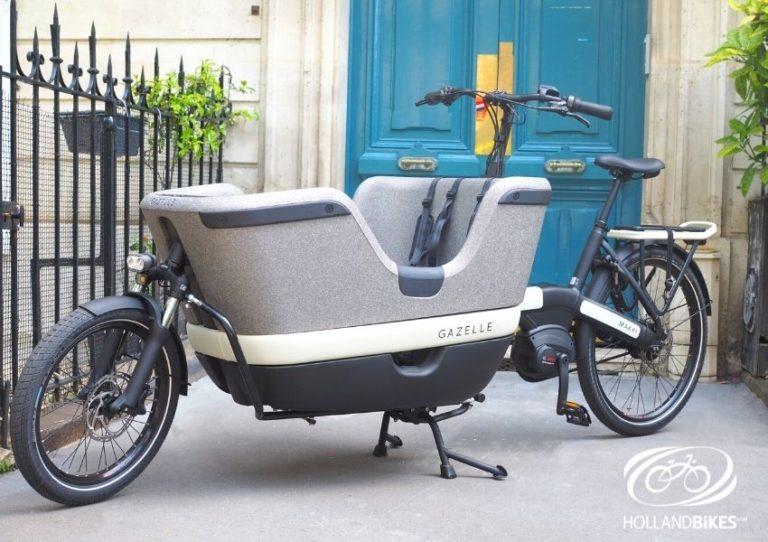 Le Gazelle Makki Load, disponible chez Holland Bikes !